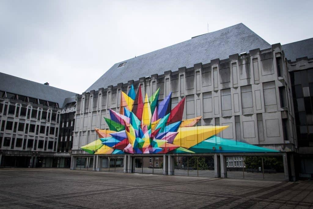 Streetart in Luik