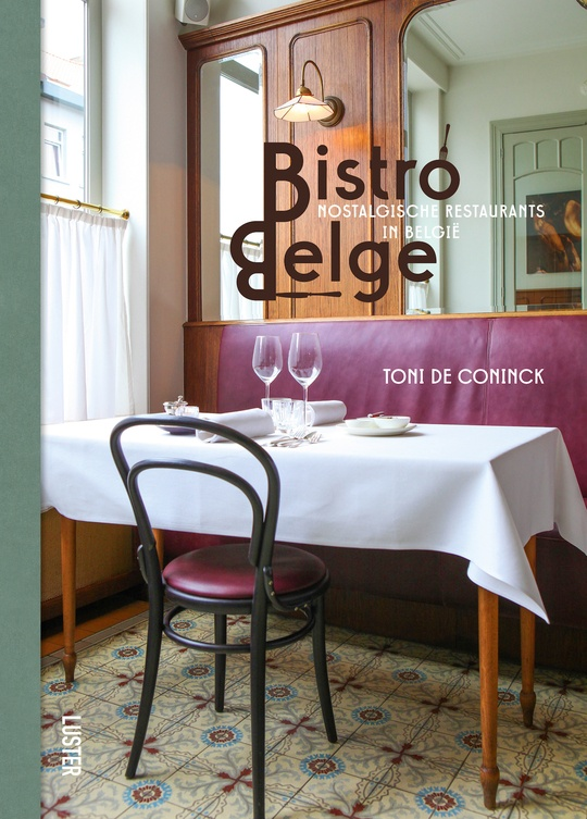 boek bistro belge  cover toni de coninck