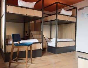 Sparks hostel Rotterdam dorm