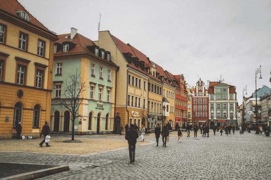 Wroclaw stadscentrum