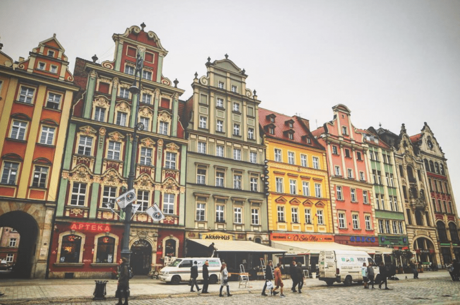 oude stadscentrum wroclaw