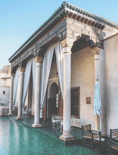 Jardin secret bottanical garden marrakech