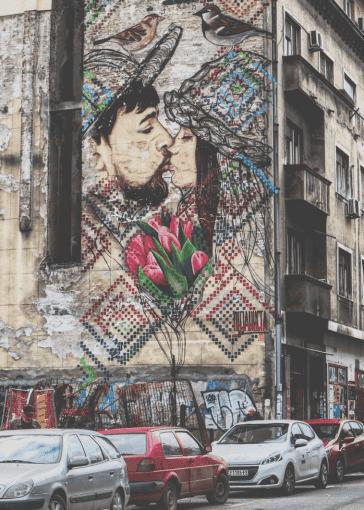 Belgrade streetart