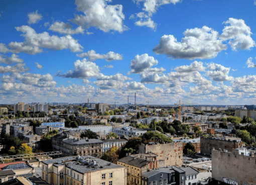 Lodz skyline