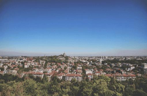 plovdiv skyline